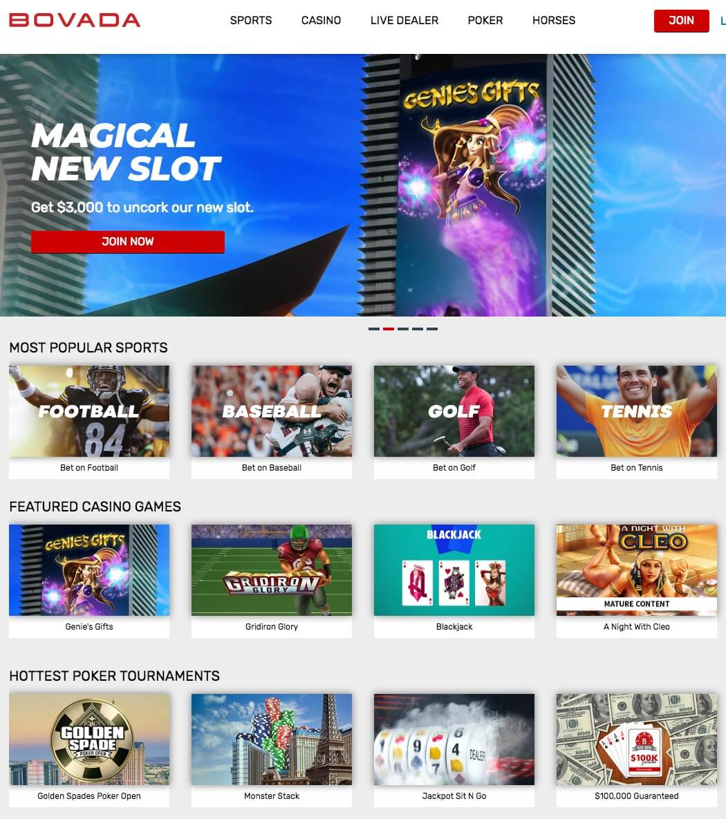 Bovada Casino Review And Bonus Free Sign Up Offer And Codes