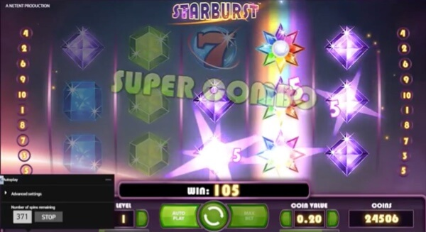 NetEnt's Starburst Slot