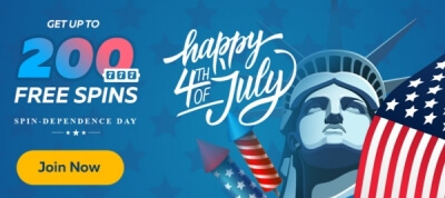 Spindependence Day Free Spins With All Deposits At Fortunejack